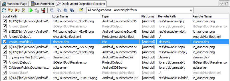 Auto start Delphi XE5 Android App after boot | Danny Wind