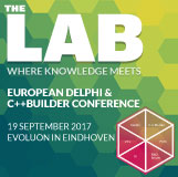 The LAB, where you get to spend time with Delphi presenters